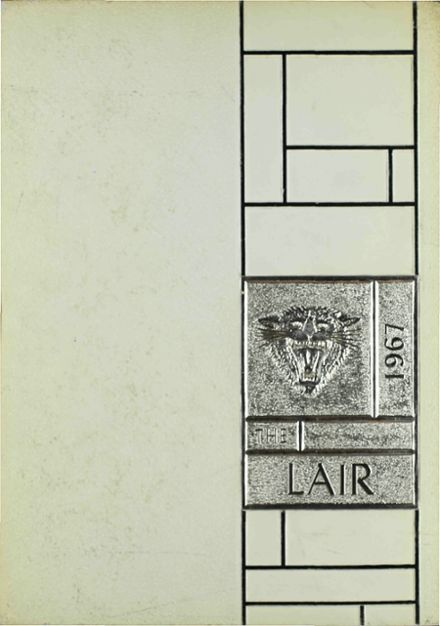 1967 Irving High School Yearbook Cover