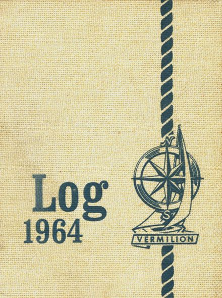 1964 Vermilion High School Yearbook Cover