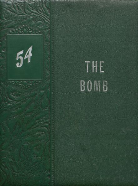 1954 Ballard Memorial High School Yearbook Cover