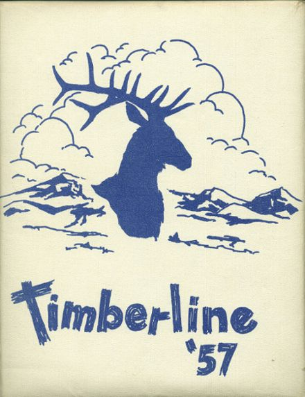 1957 Lake Quinault High School Yearbook Cover