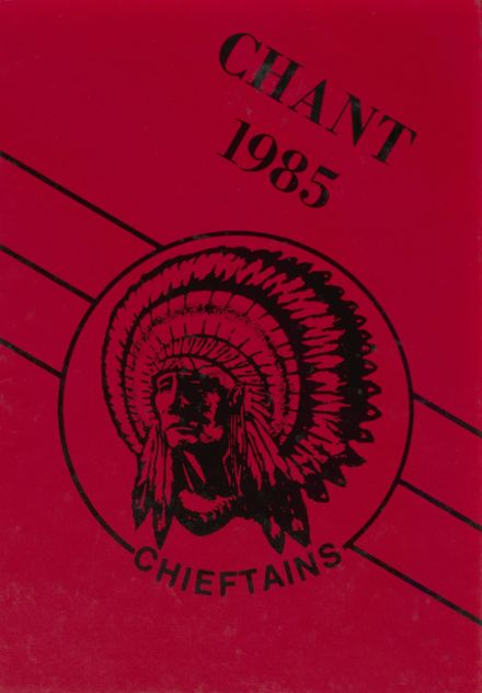 1985 Bellefontaine High School Yearbook Cover