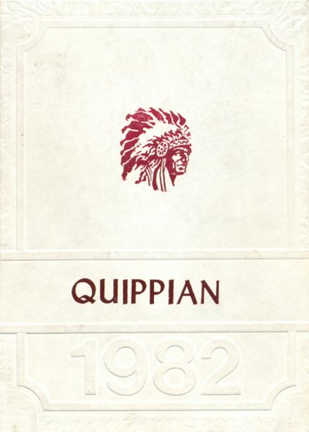 1982 Aliquippa High School Yearbook Cover