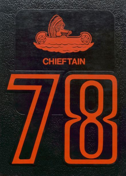 1978 White Cloud High School Yearbook Cover