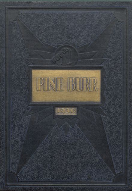 1930 Weiser High School Yearbook Cover