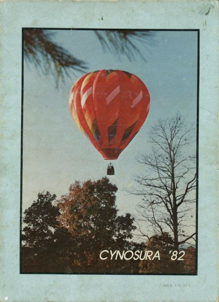 1982 North Iredell High School Yearbook Cover