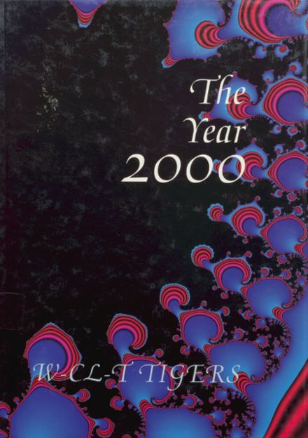 2000 Woden-Crystal Lake Community High School Yearbook Cover