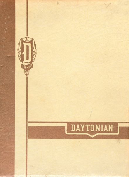 1950 Dayton High School Yearbook Cover
