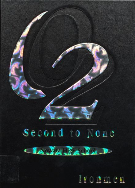 2002 Nowata High School Yearbook Cover