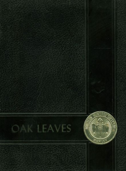 1965 Oxford High School Yearbook Cover