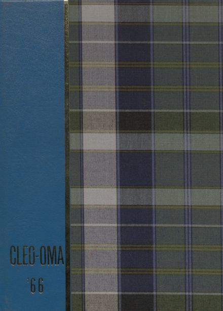 1966 Cleveland High School Yearbook Cover
