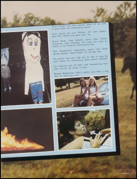 1984 Red Oak High School Yearbook Page 9