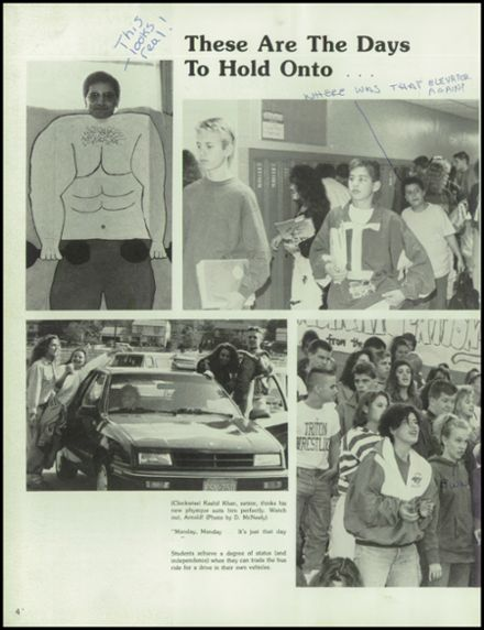 1992 Triton Regional High School Yearbook Page 8