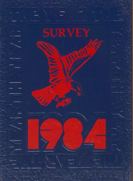 1984 Frederick Douglass High School 450 Yearbook Cover