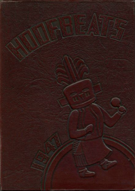 1947 North High School Yearbook Cover