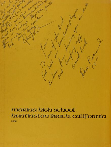 1968 Marina High School Yearbook Page 2