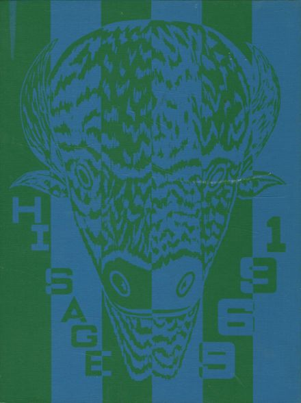 1969 Madras High School Yearbook Cover