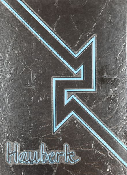 1987 Shawnee Mission East High School Yearbook Cover
