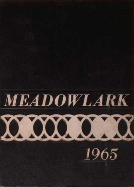 1965 Grand Meadow High School Yearbook Cover