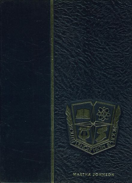 1967 South Lenoir High School Yearbook Cover