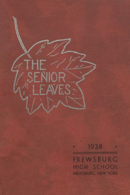 1938 Frewsburg High School Yearbook Cover