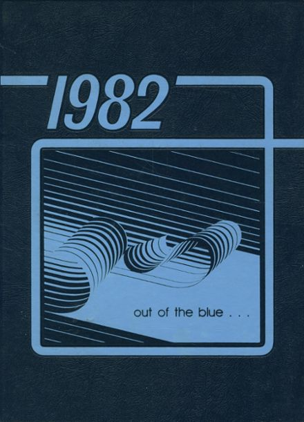 1982 Mitchell High School Yearbook Cover