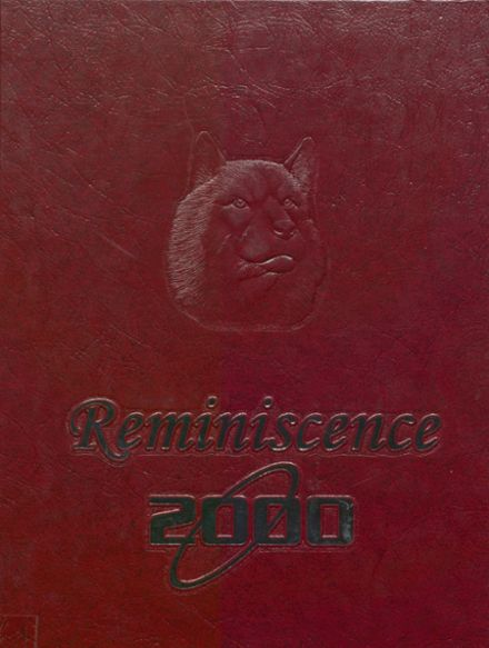 2000 Harrison High School Yearbook Cover