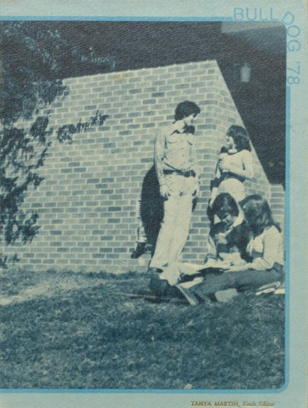 1978 Bald Knob High School Yearbook Cover