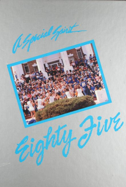 1985 Cordell High School Yearbook Cover