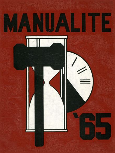 1965 Manual High School Yearbook Cover