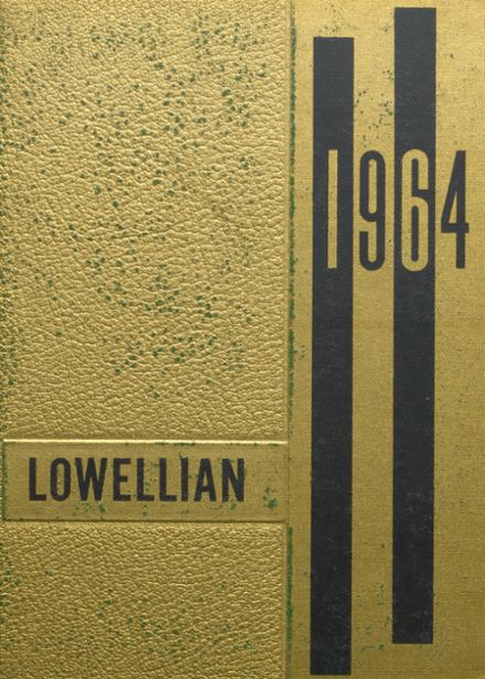 1964 Lowell High School Yearbook Cover