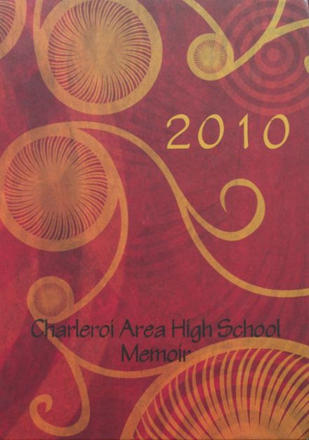 2010 Charleroi High School Yearbook Cover