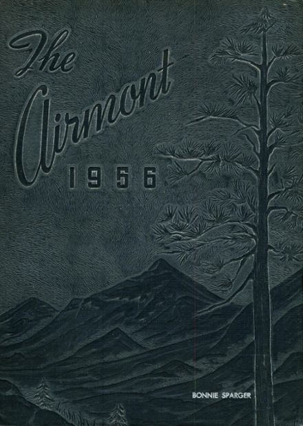 1956 Mt. Airy High School Yearbook Cover