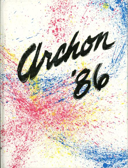 1986 Stagg High School Yearbook Cover