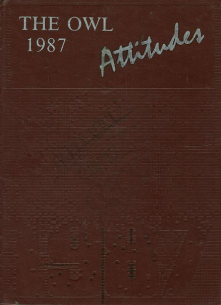 1987 Bloomfield High School Yearbook Cover
