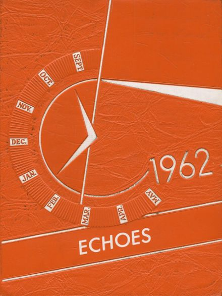 1962 Fillmore High School Yearbook Cover