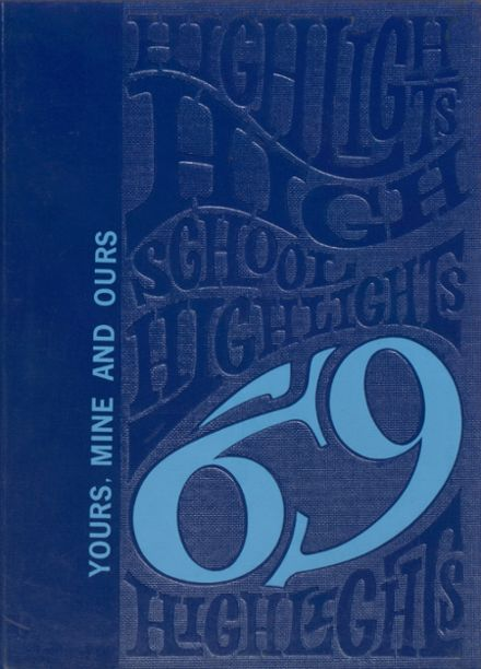 1969 Grundy County High School Yearbook Cover