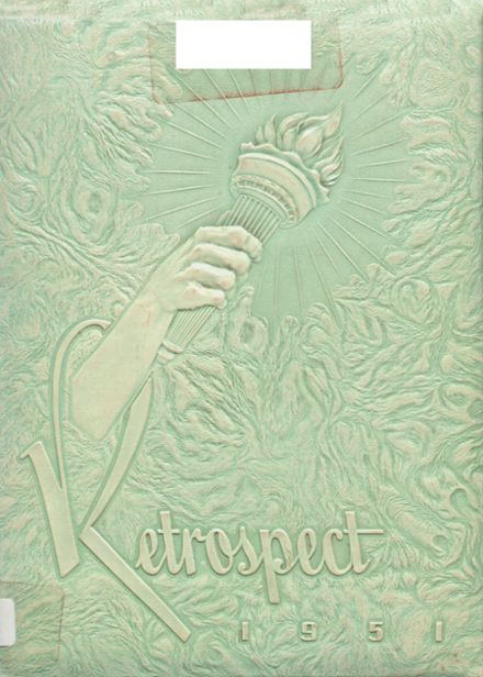 1951 Blume High School Yearbook Cover