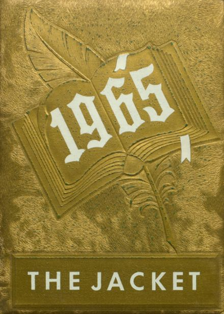 1965 Abbeville High School Yearbook Cover