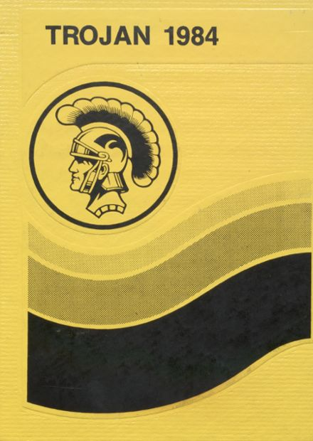 1984 Canute High School Yearbook Cover
