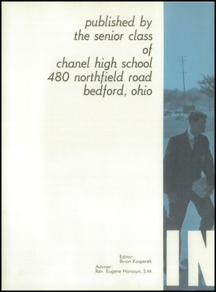 1962 Chanel High School Yearbook Page 6
