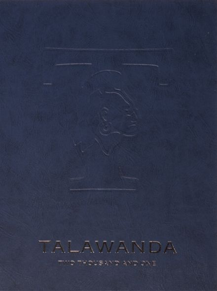 2001 Talawanda High School Yearbook Cover