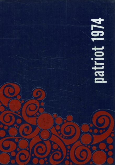 1974 Gray-New Gloucester High School Yearbook Cover