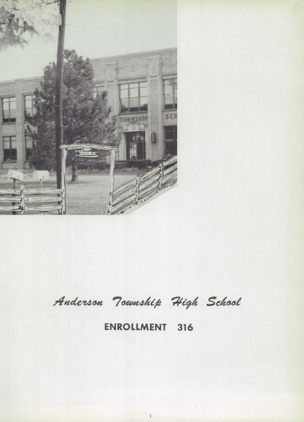 1952 Anderson High School Yearbook Page 7