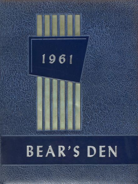 1961 Frost High School Yearbook Cover