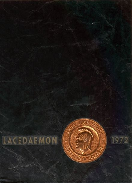 1972 Superior High School Yearbook Cover