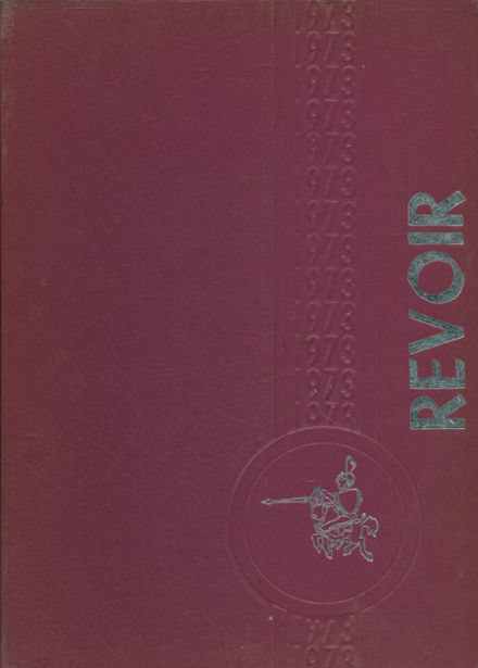 1973 The Governor Morehead School Yearbook Cover