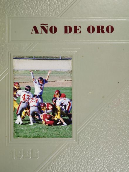 1986 Artesia High School Yearbook Cover