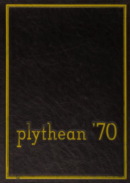 1970 Plymouth High School Yearbook Cover