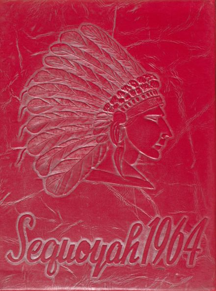 1964 Chattooga High School Yearbook Cover