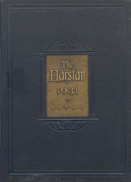 1931 Harter Stanford Township High School Yearbook Cover